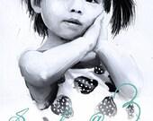 Children's custom portrait and story