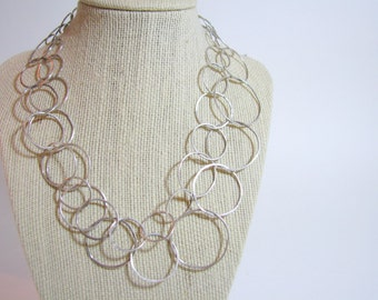 Sterling Silver Chain, Metalwork, Custom, Made to Order