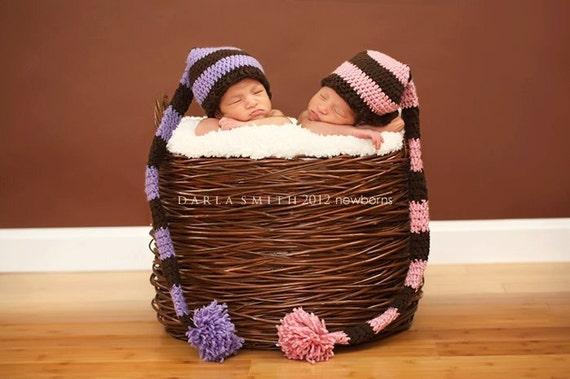 Newborn Baby  Stocking Hat     Great Photo Prop