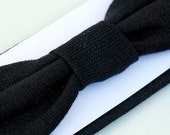 Black Interchangeable Cotton Headband