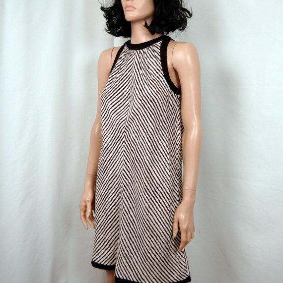 Reserved for Martha //////60's- 70's Young Edwardian Arpeja Abstract Shift Dress S M