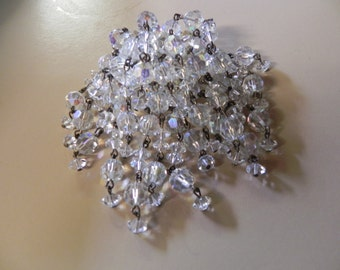 Amazing Crystal Vintage Brooch
