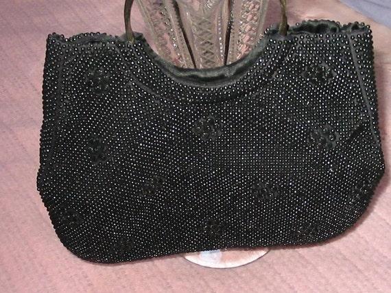Black Evening Bag Beaded