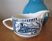 Vintage Currier and Ives Creamer