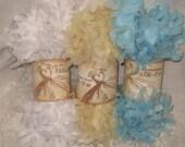 Tissue Paper Garland Festoon French Feston 6 Yards (18 Feet) Baby Boy Soft