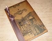Large Handmade Moleskine Notebook Altered with Salon The Petit Trianon Versailles Marie Antoinette Ooh La La