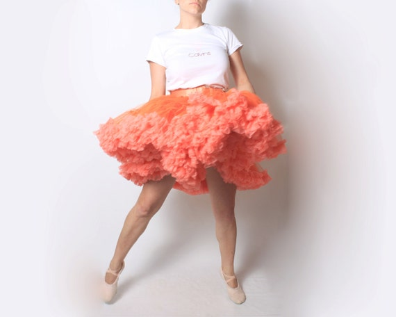 Petticoat Crinoline Skirt in Hot Pink - One size fits most