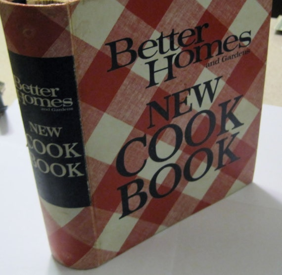 Better homes and gardens new cook book meredith press 1968 - Better homes and gardens cookbook 1968 ...