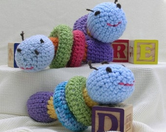 Caterpillar with Rings - Stuffed Animal