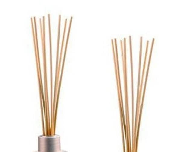how to clean reed diffuser sticks
