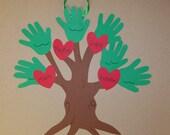 CLEARANCE -- Handprint Family Tree Keepsake Craft Kit