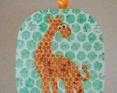 CLEARANCE -- Bubble Giraffe Craft Kit