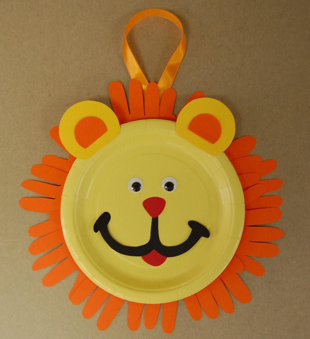 Lion Mask Craft For Preschoolers