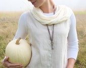 Linen Edwardian Styled Smock by Garden of Simples