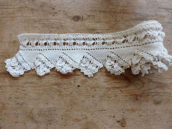 Handmade Lace, Intricate pillow edging
