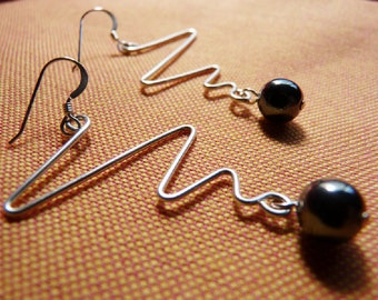 "Zig Zag ""Mara"" Earrings"