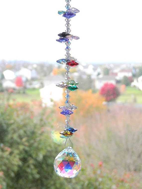 From The Rainbow Collection Swarovski Crystal suncatcher FREE SHIPPING