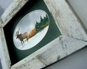 Holiday Home Decor...Strolling Brown Minnesota Moose