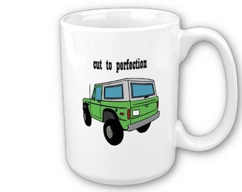 Classic Bronco Cut to Perfection Ceramic Mug