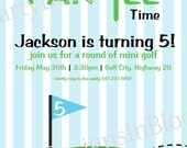 Printable Golf Party Invitation Great for Fathers Day