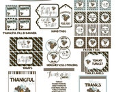 Printable Thanksgiving Turkey Collection