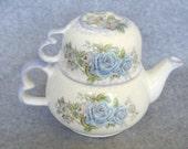 Tea for One - Blue Roses No. 2