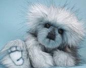 BlueBerry an OOAK Bear