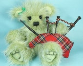 Particia an OOAK bear for St. Patrick Day