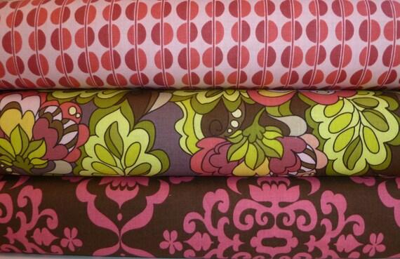 Riley Blake by Lila Tueller - Fiona's Fancy - custom bundle - 1 Yard each fabric - 3 Total yards