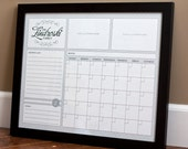 Print Your Own - Family Calendar - Style 2.1