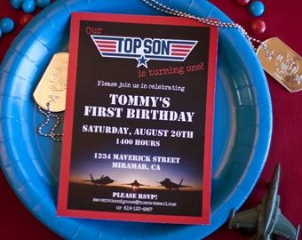 Top Son 2nd Birthday - Printable & Customizable