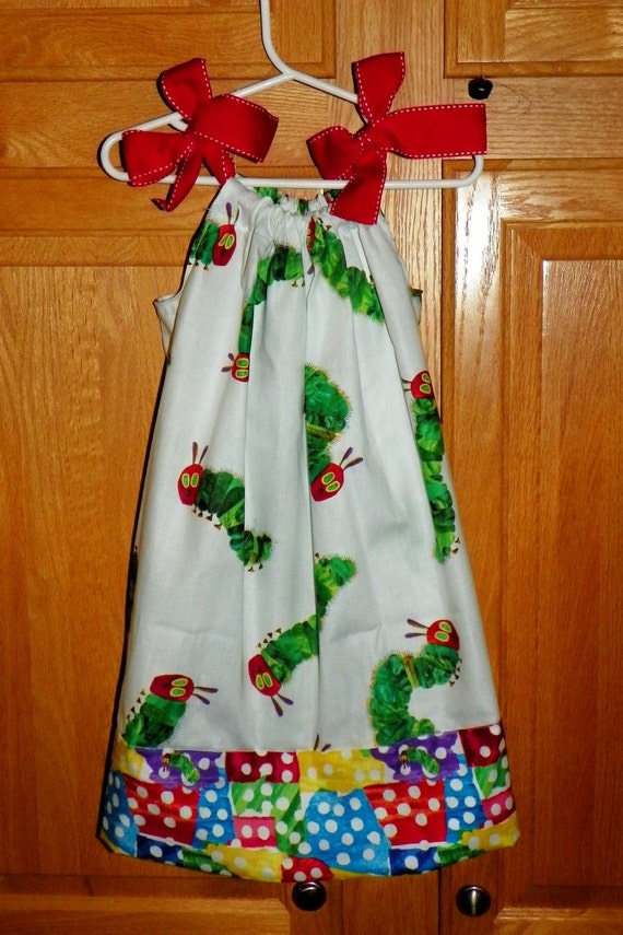 The Very Hungry Caterpiller Dress