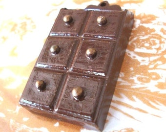 Vintage 1970's Miniature Chocolate Brown Wall Cabinet with Drawers  Dollhouse Miniatures Storage Bathroom Cabinet