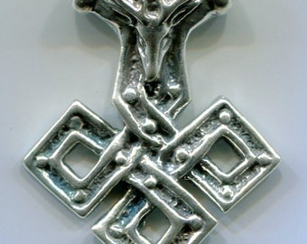 Stag Knot Thor's Hammer