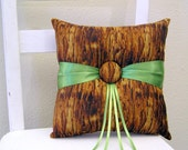 Woodland Tree Ring Pillow