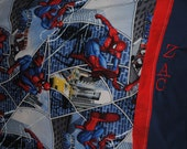 Reserved for treebie6 - Spiderman Pillowcase and toddler sheet