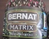 2 Skeins Bernat Matrix New Nouveau Yarn Password Pink color