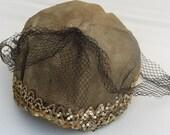 1920's flapper hat