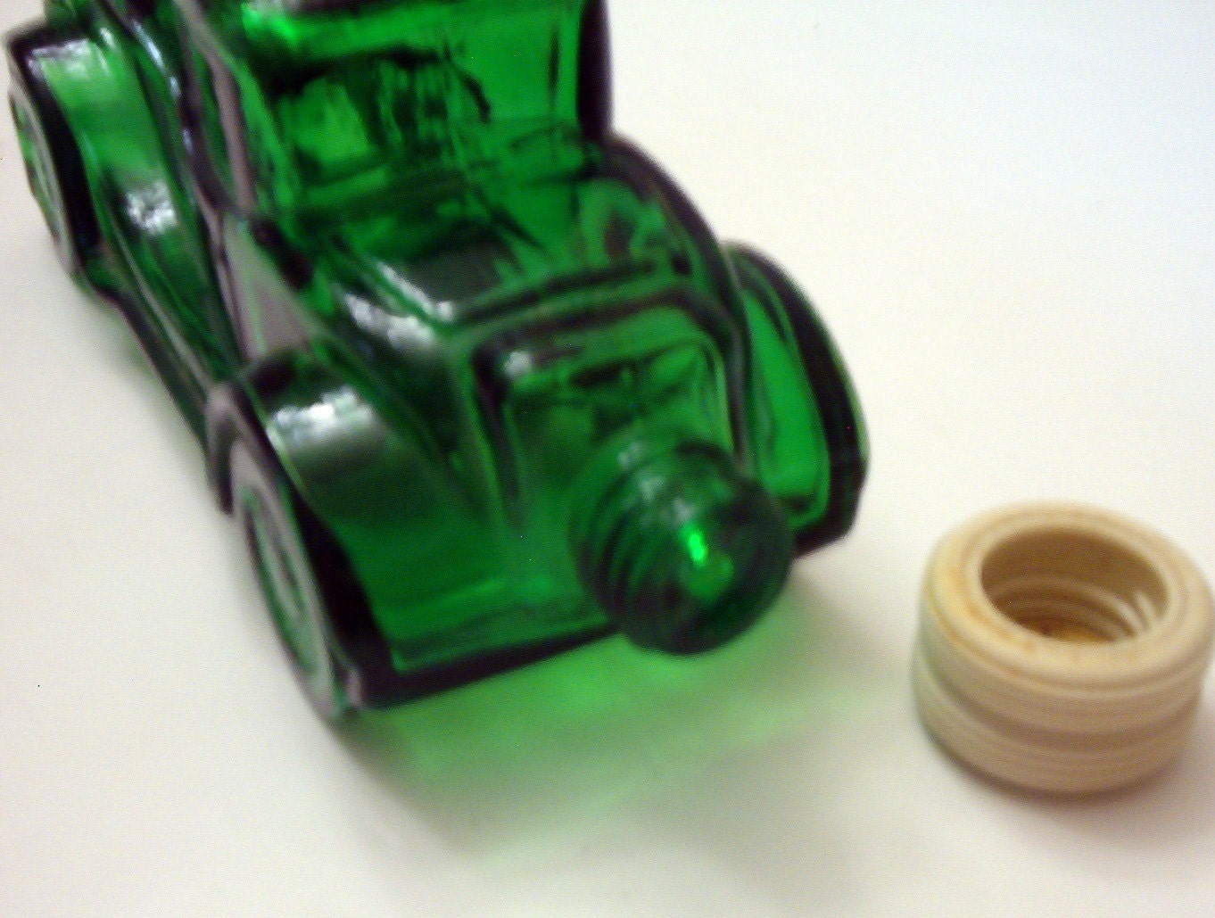 Vintage Avon Cologne Bottle Old Green Car By Theoldchest