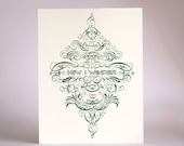 LIMITED EDITION Twinkle Petit Star Letterpress Print