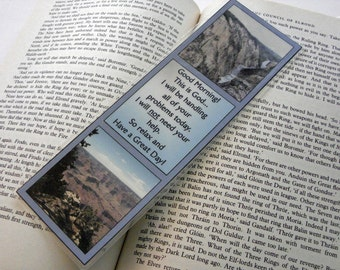 "10 mil Laminated Bookmark - ""Good Morning.  This is God...  """