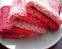Shades of Spring Dishcloth Scrubbers.COTTON