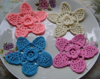 COTTON Crochet COASTER...