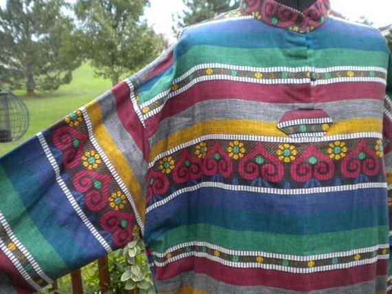 SALE             Vintage Unisex Beatle's Inspired Hippie Top