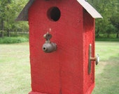 Whimsical Cedar Birdhouse