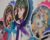 Monster High Cupcake Topper/Tags