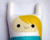 Adventure Time Fiona plush, Fiona and Cake