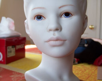 Vintage Cybis Figurine Head of Boy Bust
