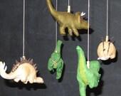 Dinosaur Mobile - REDUCED PRICE