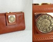 Zodiac Constellation Leather Wallet